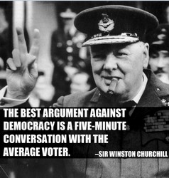 churchill on democracy